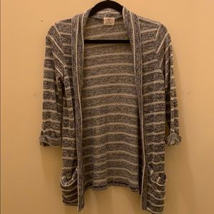 Urban Outfitters Striped Shrug Cardigan